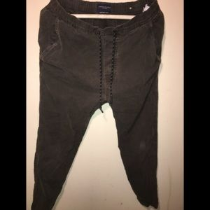 American Eagle Outfitters Sweatpants Dark Brown